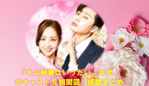 韓国ドラマ「キム秘書はいったい、なぜ」の相関図やキャスト・あらすじや感想まとめ