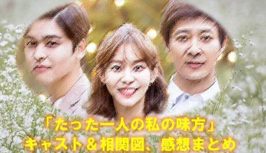 韓国ドラマ「たった一人の私の味方」のキャストや相関図・感想まとめ