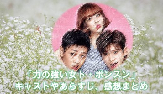 韓国ドラマ「力の強い女ト・ボンスン」のキャストやあらすじ・感想まとめ