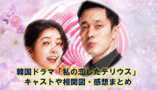 韓国ドラマ『私の恋したテリウス』の相関図やキャスト、感想や評判まとめ