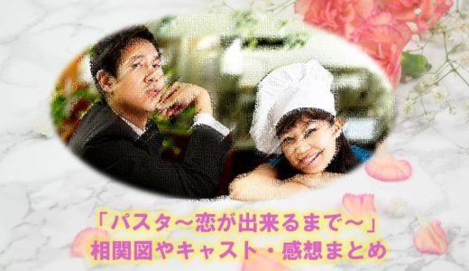 韓国ドラマ『パスタ~恋が出来るまで~』のキャストやあらすじ・相関図まとめ
